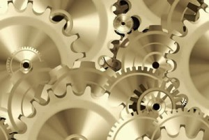 Cogs in a wheel